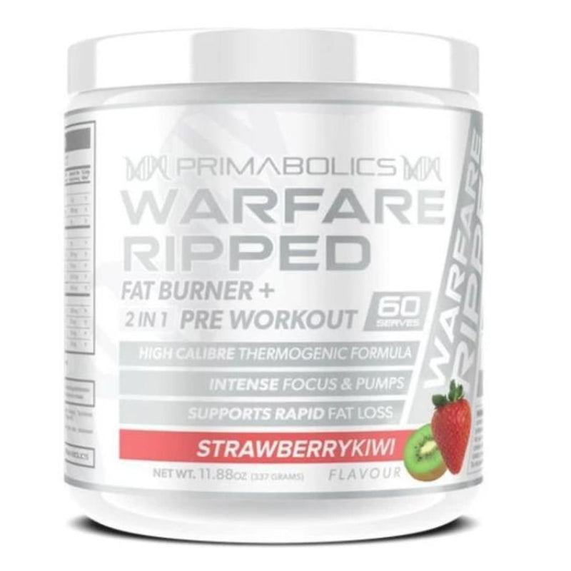 Warfare Ripped by Primabolics | Fat Burning Powder | Spartansuppz - Spartansuppz