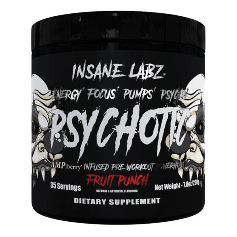 Insane Labz Psychotic Black - Spartansuppz