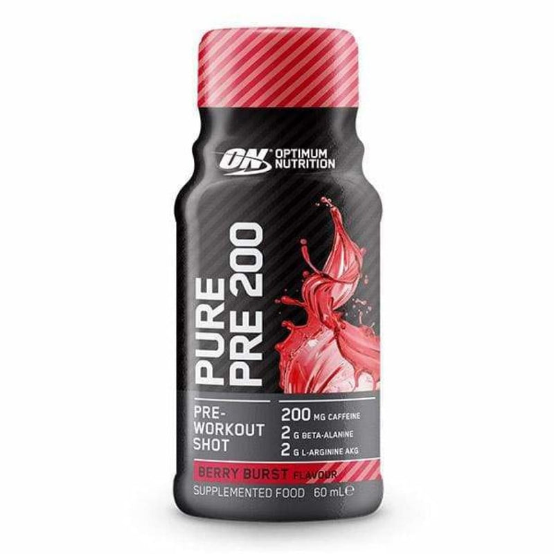 Pure Pre 200 by Optimum Nutrition | Protein Bars & Snacks | Spartansuppz - Spartansuppz