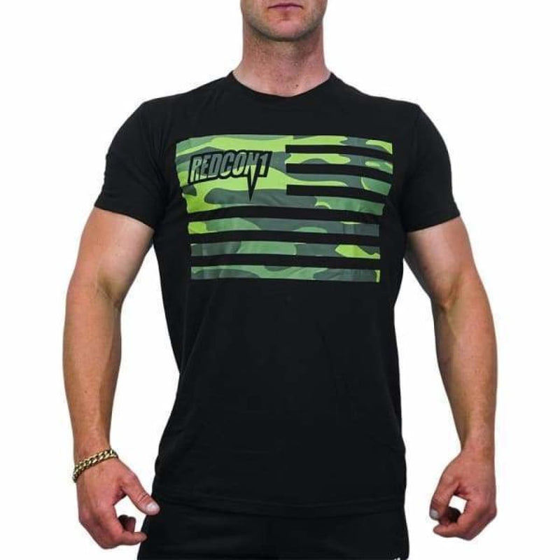 Redcon1 Camo Flag Tee by Redcon1 | Clothing | Spartansuppz - Spartansuppz