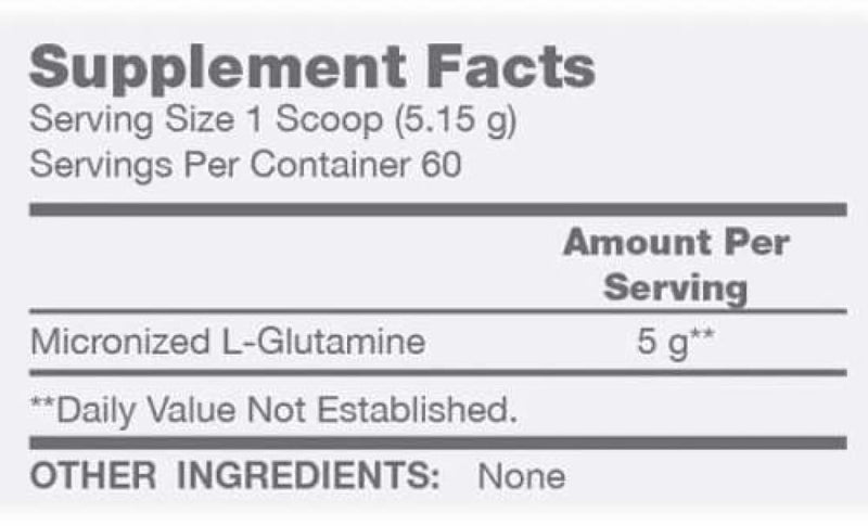 Glutamine by BSN