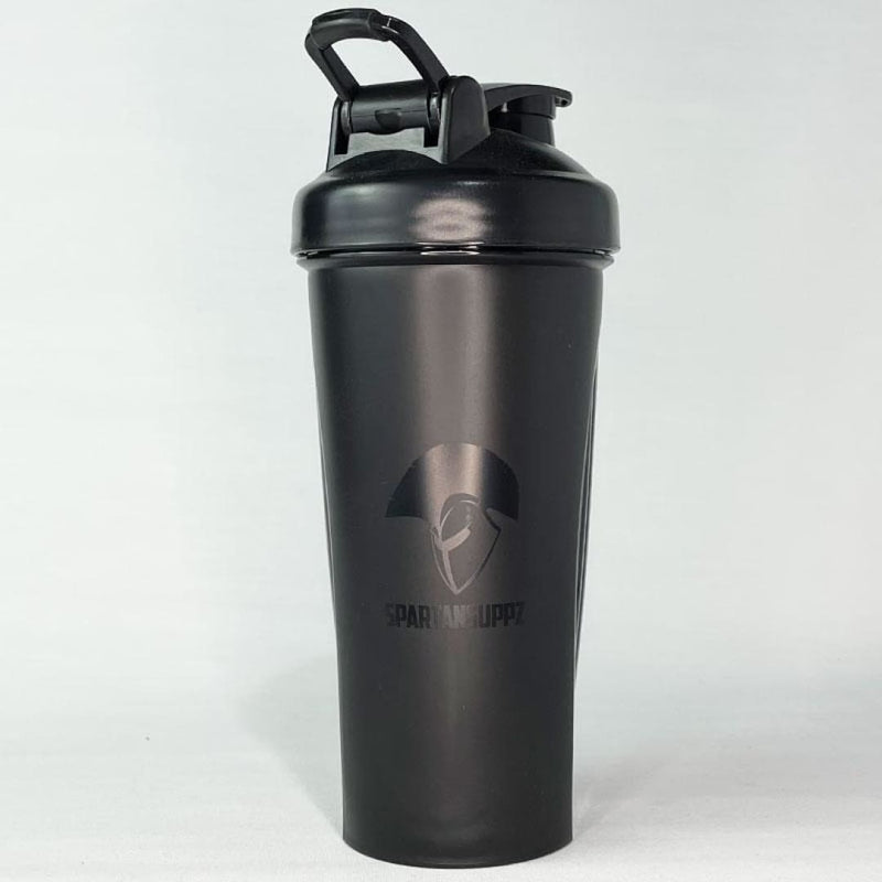 Spartans Black On Black Performance Shaker Cup by Spartans Apparel | Drink Bottles & Shakers | Spartansuppz - Spartansuppz
