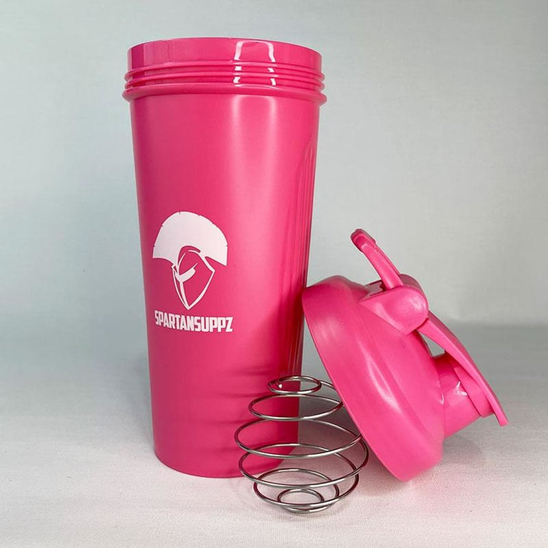 Spartans Breast Cancer Shaker Cup - Spartansuppz