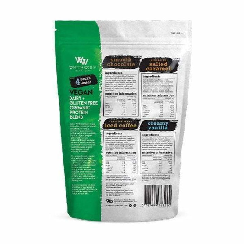 Vegan Protein Blend Trial Pack by White Wolf Nutrition