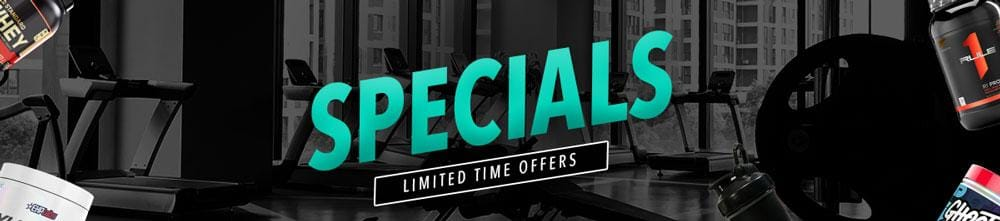 Supplements On Special at Spartansuppz
