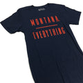 MONTANA / EVERYTHING BOYFRIEND TEE - NAVY/RED