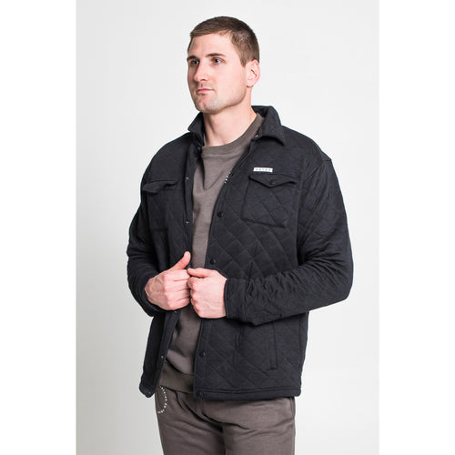 UPTOP QUILTED SHIRT JACKET