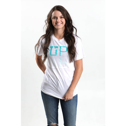 UPTOP REFLECTION BOYFRIEND TEE