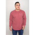 UPTOP / PIGMENT WASHED CAPITAL LONG SLEEVE TEE
