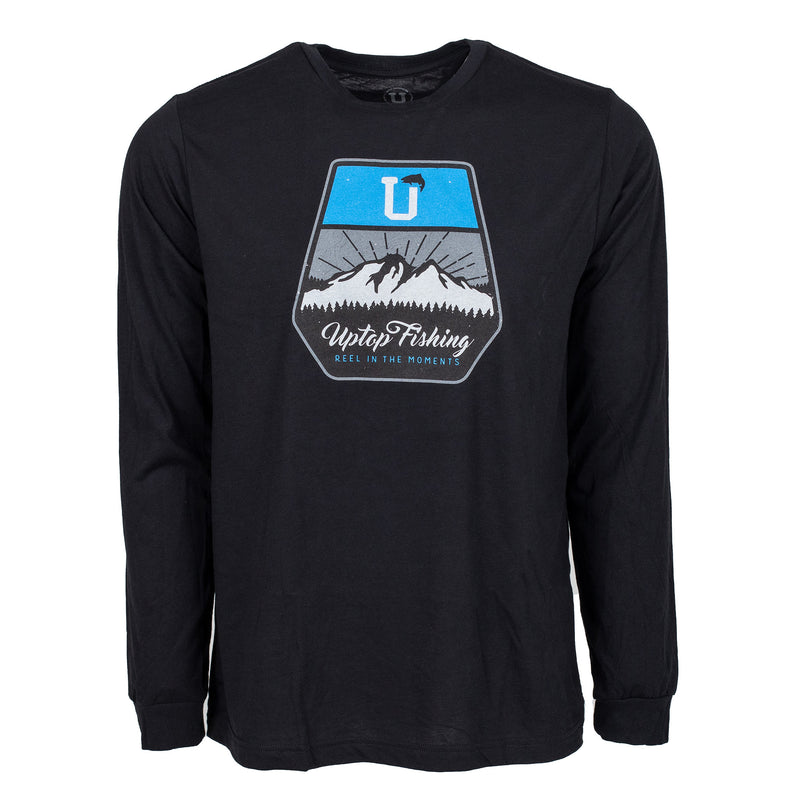 UPTOP / FISHING 2.0 TRIBLEND LONG SLEEVE TEE