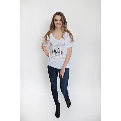 UPTOP ARROWS SLOUCHY T-SHIRT