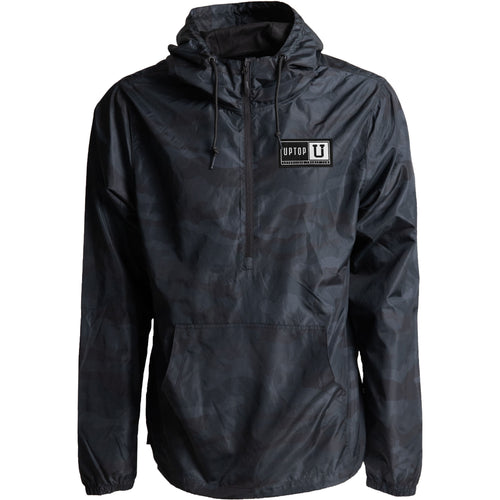 UPTOP 1/2 ZIP PULLOVER WINDBREAKER JACKET