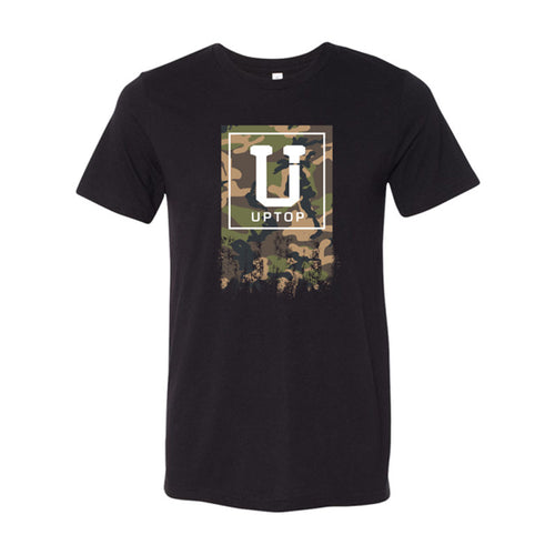 UPTOP BRANDED CAMO TRIBLEND TEE