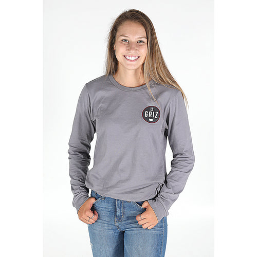 UPTOP / GRIZ CAMPUS LONG SLEEVE TEE