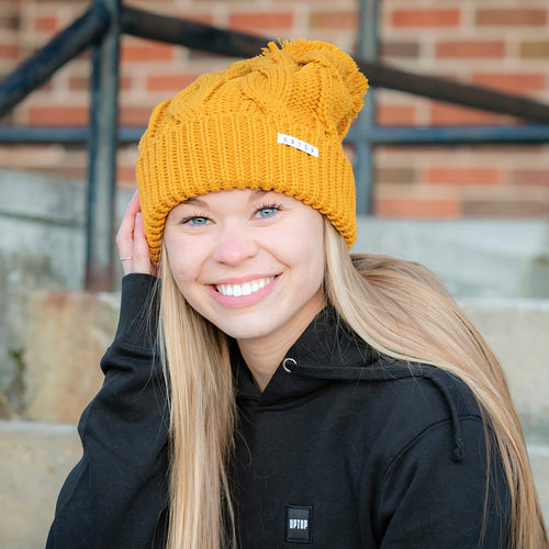 UPTOP DAILY CHUNKY KNIT BEANIE