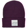 UPTOP SIMPLE BEANIE - GRAPE