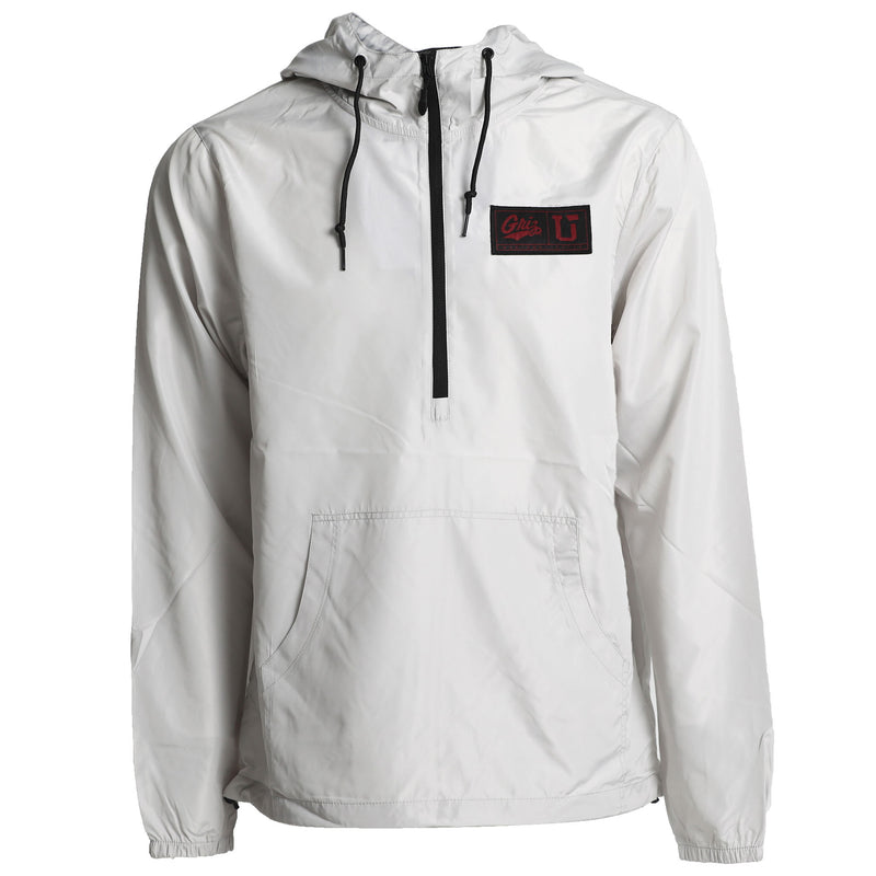 UPTOP/ GRIZ 1/2 ZIP PULLOVER WINDBREAKER JACKET