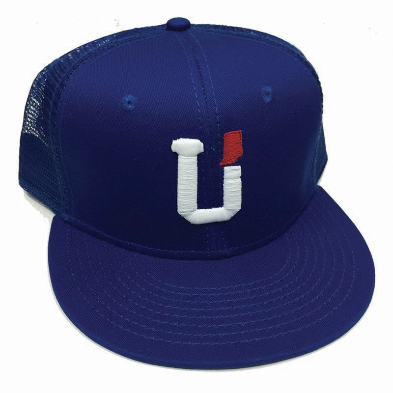 UPTOP INDIANA TRUCKER HAT - ROYAL