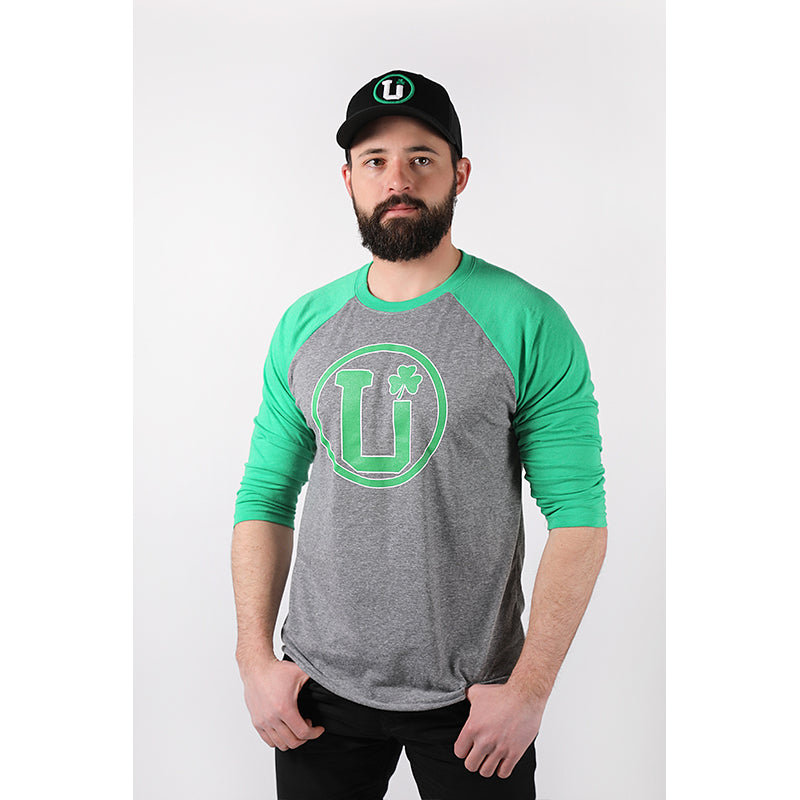 UPTOP IRISH RAGLAN TEE
