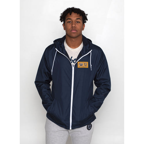 UPTOP / MSU ENDZONE FULL-ZIP WINDBREAKER JACKET