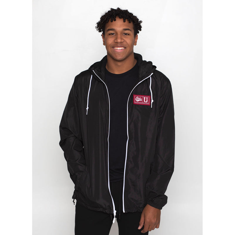 UPTOP / GRIZ ENDZONE FULL-ZIP WINDBREAKER JACKET