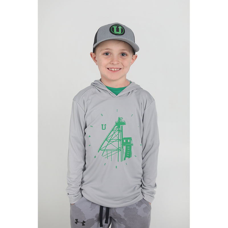 UPTOP IRISH CITY YOUTH LONG SLEEVE TEE