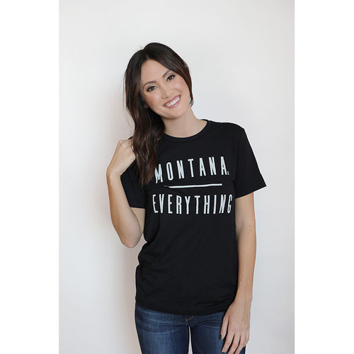 MONTANA / EVERYTHING WOMEN'S BOYFRIEND TEE
