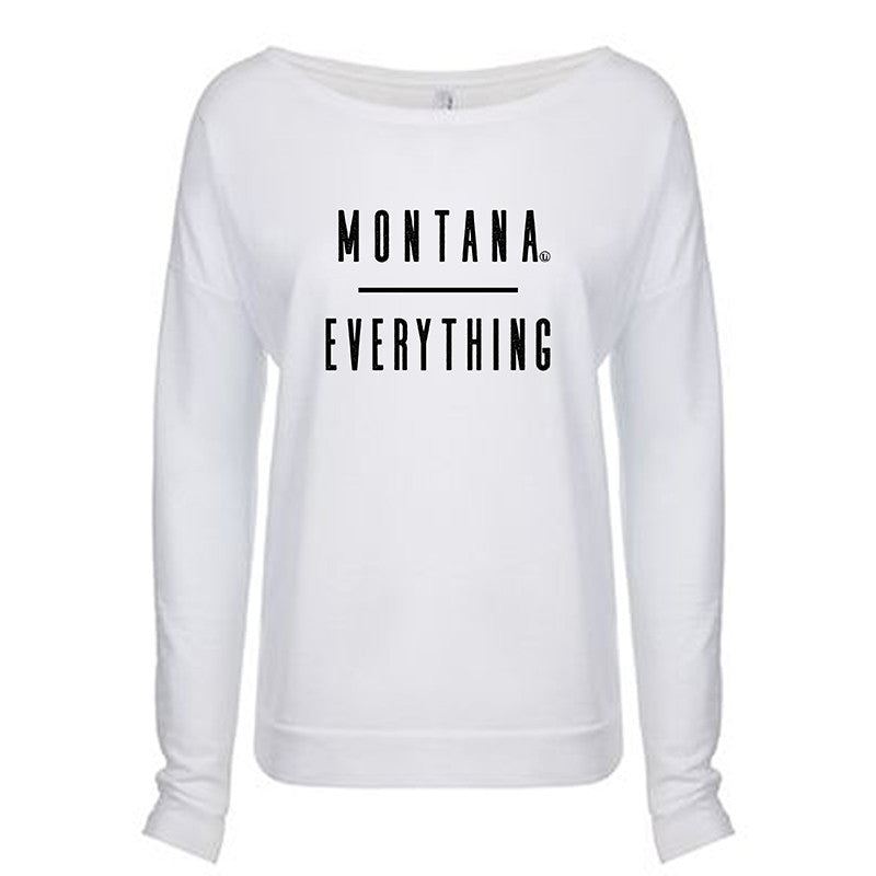 MONTANA OVER EVERYTHING WOMEN'S LONG SLEEVE SCOOP