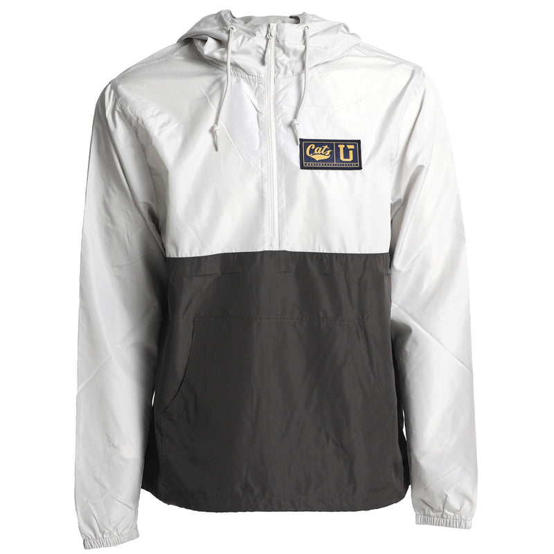 UPTOP/ MSU 1/2 ZIP PULLOVER WINDBREAKER JACKET