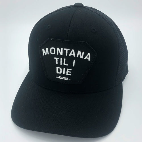 UPTOP MONTANA TIL I DIE 110 ADJUSTABLE FLEXFIT HAT
