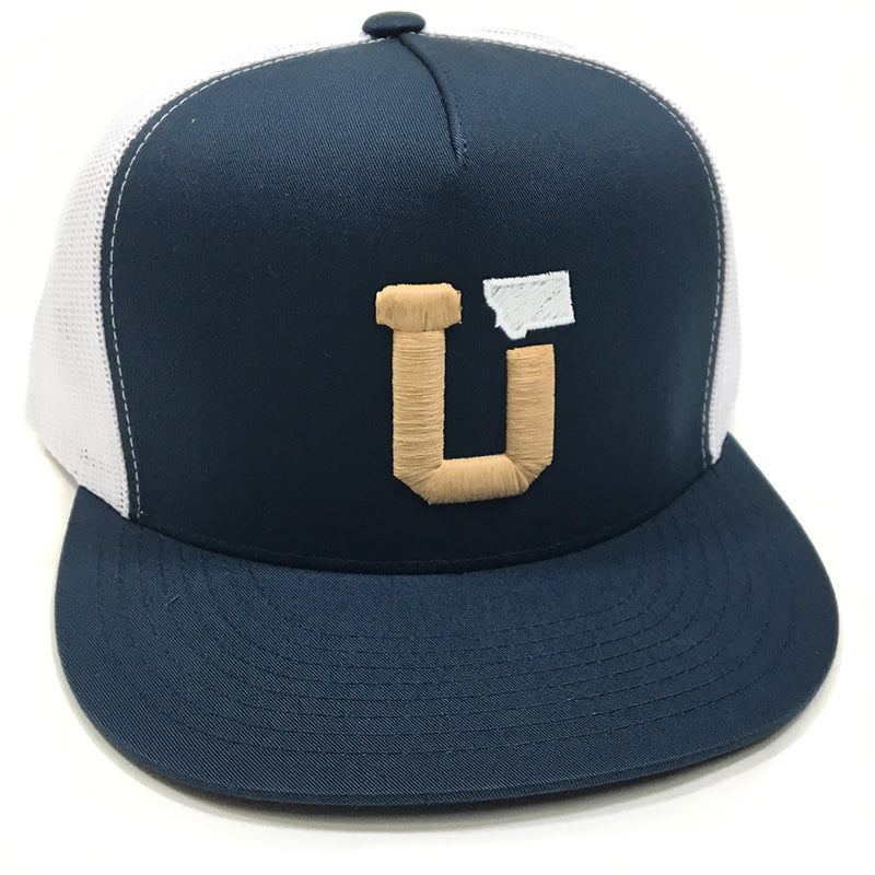 UPTOP UT MT TRUCKER HAT - NAVY/WHITE
