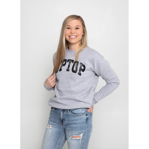 UPTOP / BASIC FLEECE SWEATSHIRT