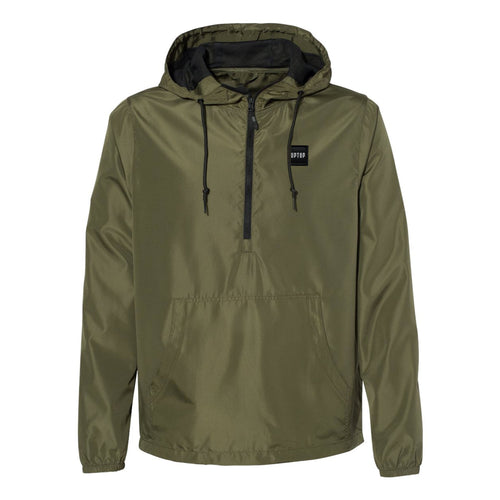 UPTOP SIMPLE 1/2 ZIP WINDBREAKER JACKET