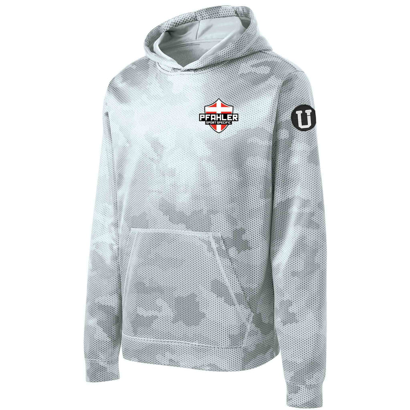 UPTOP / YOUTH PFAHLER SPORTS SPECIFIC CAMO HOOD