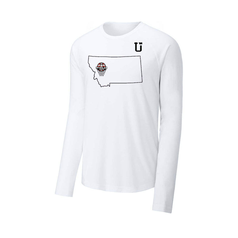 UPTOP / PFAHLER HOOPS LONG SLEEVE TEE