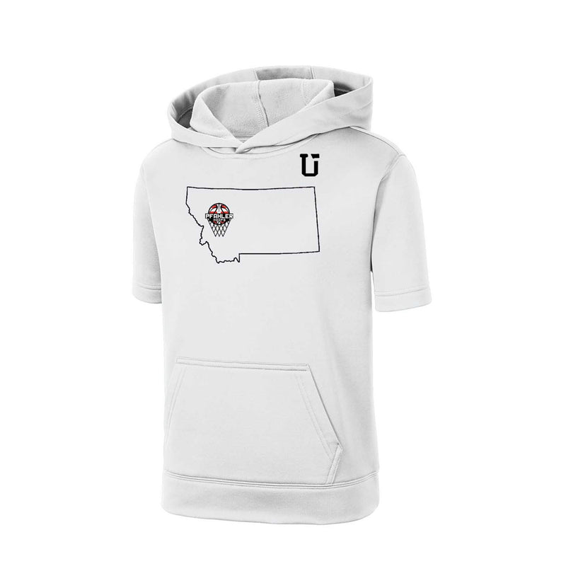 UPTOP / YOUTH PFAHLER HOOPS MIDWEIGHT POLYBLEND HOOD