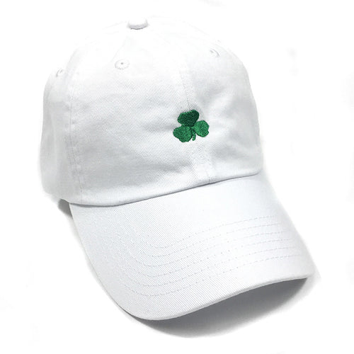 UPTOP SHAMROCK DAD HAT - WHITE