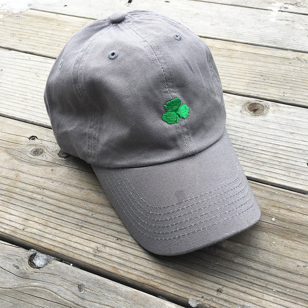 UPTOP SHAMROCK DAD HAT - GREY