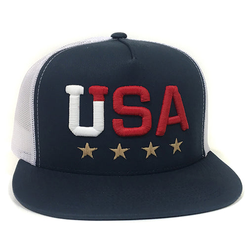 TEAM USA TRUCKER HAT