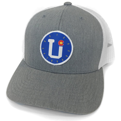 UPTOP / COLORADO RETRO TRUCKER HAT(PRE-CURVED)