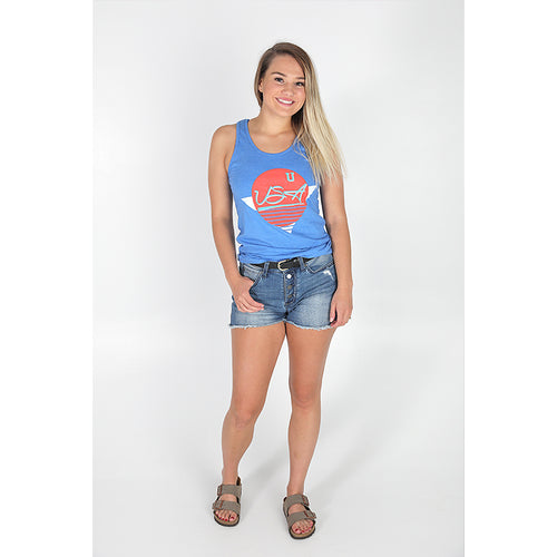 UPTOP VINTAGE USA RELAXED TANK