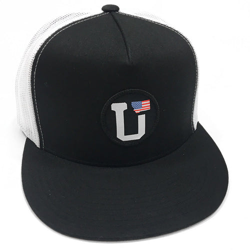 UPTOP UT MONTANA USA FLAG TRUCKER HAT