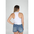 UPTOP TEAM USA CROPPED RACERBACK TANK