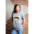 UPTOP GRIZZLY SUNSET 2 BOYFRIEND TEE