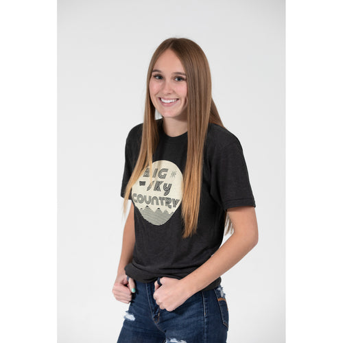 UPTOP / RETRO BIG SKY COUNTRY BOYFRIEND TEE