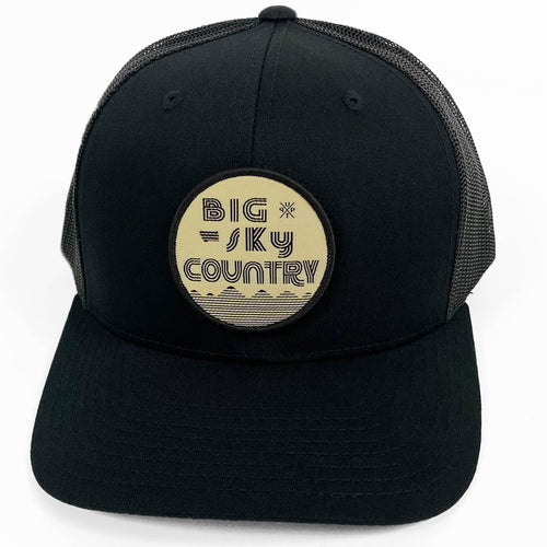 UPTOP BIG SKY COUNTRY RETRO TRUCKER HAT