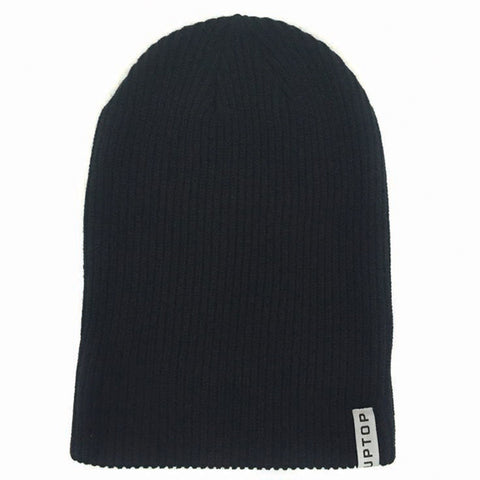 UPTOP YOUR WAY BEANIE - BLACK