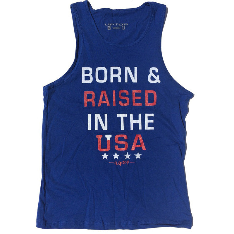 BORN IN THE USA MEN'S TANK