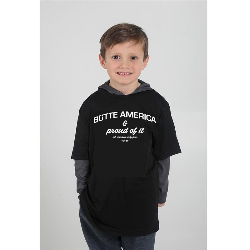 UPTOP / BUTTE AMERICA YOUTH TEE