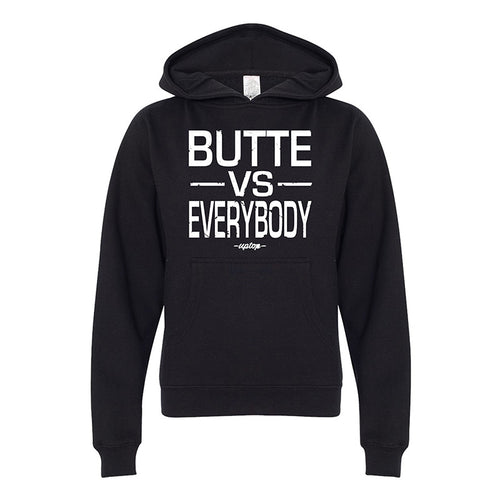 BUTTE VS EVERYBODY YOUTH HOODIE